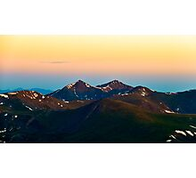 Greys and Torreys Peak in the Morning Photographic Print