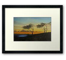Kipahulu Sunset Framed Print