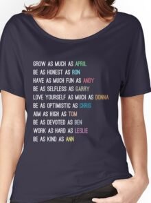 Parks characters Women's Relaxed Fit T-Shirt