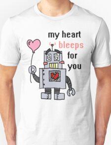Sketchy Bot - Valentine's Day T-Shirt