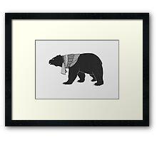 Fur Wanderer Framed Print