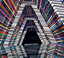 Stairwell, Madison Museum of Contemporary Art by Scott Johnson