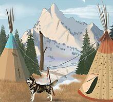 Cherokee Nation by Edmond  Hogge