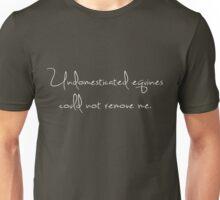 Undomesticated Equines 1 White Unisex T-Shirt