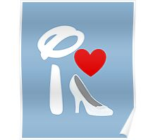 I Heart Cinderella (Inverted) Poster