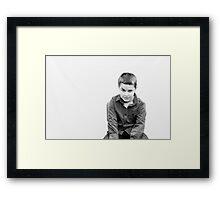 Jordie Framed Print