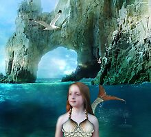 Young Mermaid by Elizabeth Burton