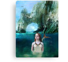 Young Mermaid Canvas Print