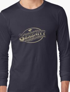 Serenity Transport & Delivery Service Long Sleeve T-Shirt