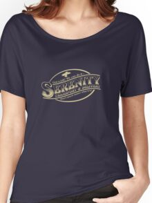 Serenity Transport & Delivery Service Women's Relaxed Fit T-Shirt