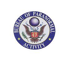 Bureau of Paranormal Activity by steelvortex
