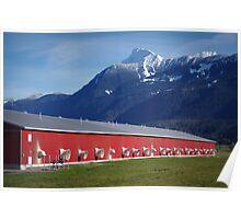 Fraser Valley Farming Poster