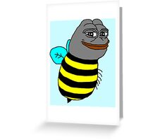 Pepe the Bee Greeting Card