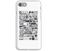 Bands iPhone Case/Skin