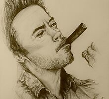 Robert Downey Jnr by Clownfishh