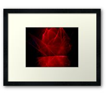 ©NLE The Voice Of Red Light Framed Print