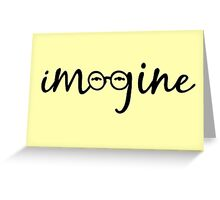 Imagine - John Lennon  Greeting Card