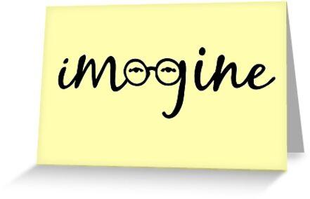 Imagine - John Lennon  by Denis Marsili - DDTK