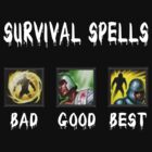 survival spells [( bad Good BEST ) white version] by saviorum