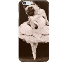 pug dance iPhone Case/Skin