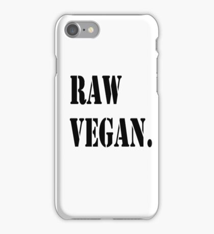 Raw Vegan iPhone Case/Skin