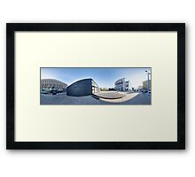 Project house OSIS, Riga, Latvia Framed Print