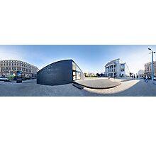 Project house OSIS, Riga, Latvia Photographic Print