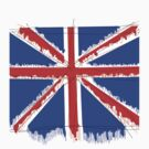 Flag: United Kingdom by Crystal Friedman