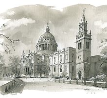 St Paul's Cathedral by wiscan