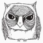 Wonky Owl-5 by annieclayton