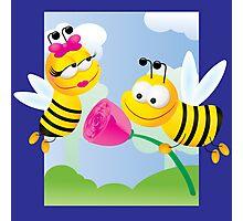 Love bees Photographic Print