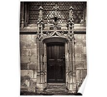Flamboyant door Poster
