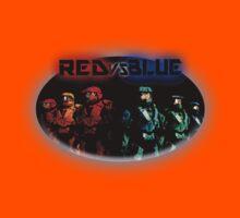 Red Vs Blue Kids Tee