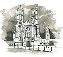 Westminster Abbey by wiscan