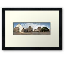 St. Peter's Church panorama, Riga, Latvia Framed Print