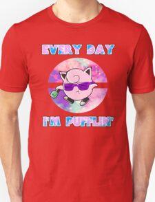 Every Day Im Pufflin (Jigglypuff) T-Shirt