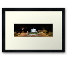Latvian National Opera panorama in summer, Riga, Latvia Framed Print