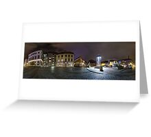 Old Riga panorama, Riga, Latvia Greeting Card