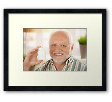 Harold the Old dude Framed Print