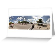 NORDEA MARATHON PANORAMA, rIGA, lATVIA Greeting Card