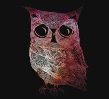Intricate Owl - in colour Kids Tee