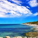 Looking north along Burns Beach by georgieboy98