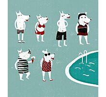 Retro swimsuits Photographic Print