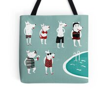 Retro swimsuits Tote Bag
