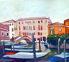 View of Venice by Filip Mihail