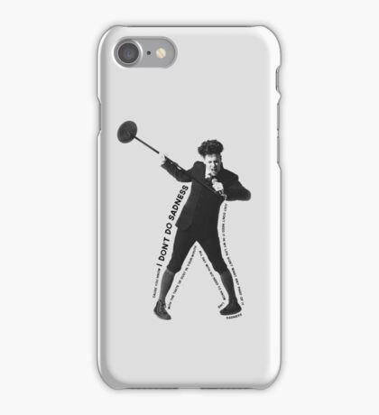 Moritz Stiefel (Don't Do Sadness) iPhone Case/Skin