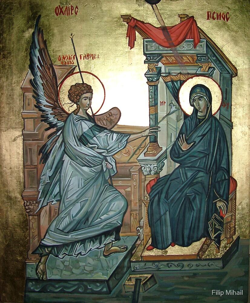 Annunciation by Filip Mihail