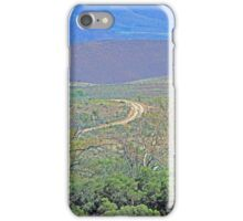 A road to the hills from Beltana Station iPhone Case/Skin