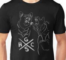 German Shepherd Hard Core Unisex T-Shirt