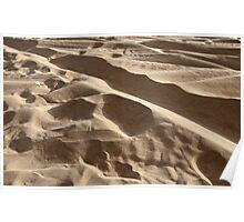 sand in the desert Poster